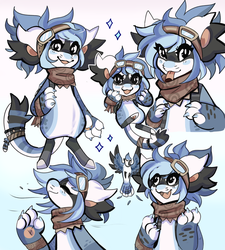 Sketch Page: Emmy by Snorechu