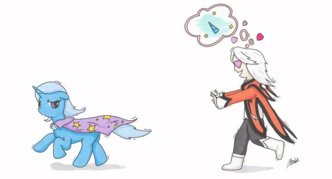 The Trixie Supremacy Drawfest 2012 #3 by MS by MoonlightScribe