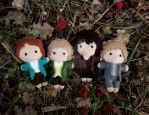 Frodo's Adventures: Wait! We're coming too! by BakerStreetDolls