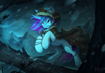 Through the storm by hioshiru-alter