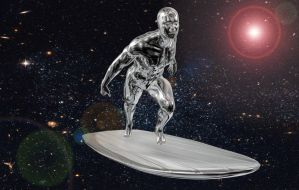 Silver Surfer by Scynge