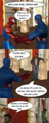 Welcome back, Spidey by RazKurdt