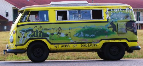 Dinoworld Van by UniversalCreativity