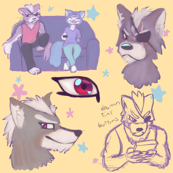 doodle page by RaeLx888