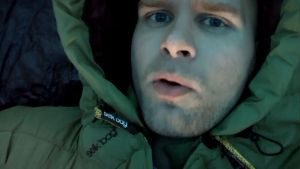 Me in My New Sleeping Bag Suit by Bennuendo