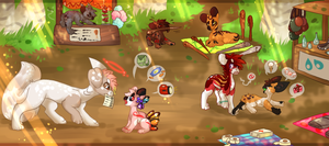Shopping Break - Summer Event 1-1 by Hannah--Bug