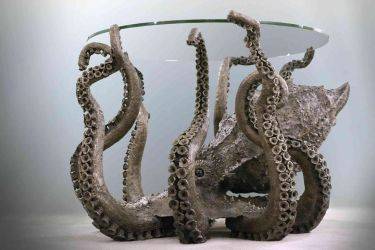 Bronze Octopus Side by AlexCFriend