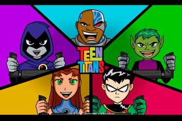 Teen Titans GO! by RavenEvert