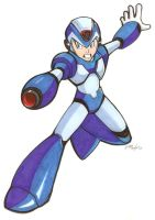 Mega Man X by Vauz