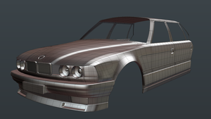 BMW 7 Series E32 ~ WIP by JoeyBlendhead
