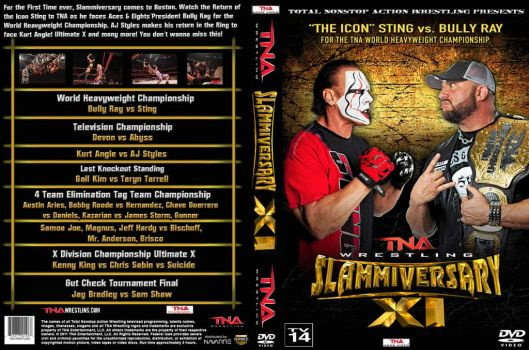 TNA Slammiversary XI 2013.. by Spacehoper29