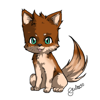 Amber by Griffin-Kitten