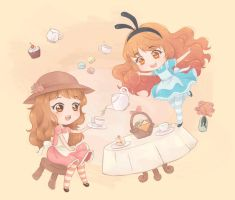 [Collab] Tea Party by Frappe7