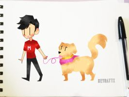 Mark And Chica by Natti10