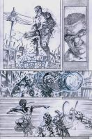 SanEspina Wanted page3 pencils by santiagocomics