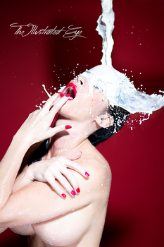 Milk Splash by IllustratedEye