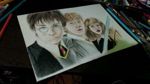 Harry Potter Drawing by UchihaAkanee