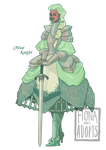 [open] Adopt - Mint Knight by fionadoesadopts