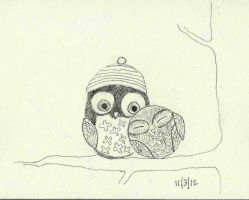 Owls by bebesdupoire