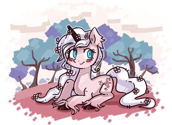 Giveaway prize - Cherry Blossom by KYAokay