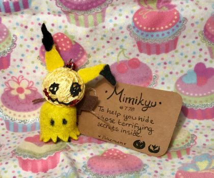 #778 Mimikyu Voodoo Doll by LaPetitLapearl