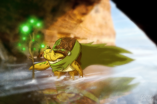 Ancient Turtle by ColtonBalske