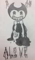 Bendy And The Ink Machine doodle by DarkraiandCompany