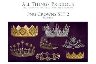 Crown Overlays set 2 by AllThingsPrecious