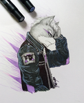 Post-Punk Wolf by TheSeventhSeeker