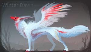 [CLOSED] Adopt Auction - WINTER DAWN by Terriniss
