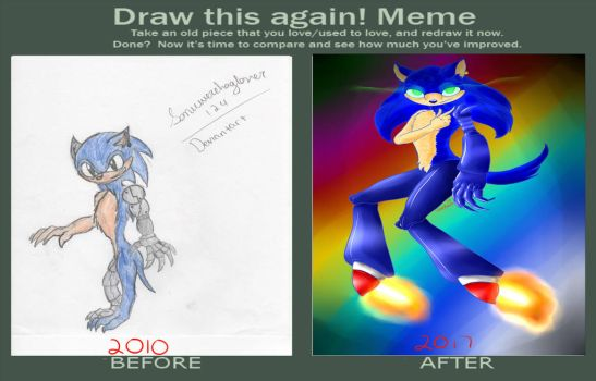 Draw it Again 2017 by sonicwerehoglover124