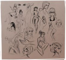 Sketches People by Sodano