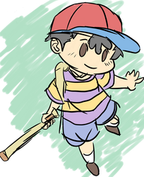 Ness - Earthbound / Mother by LinkyBrutus