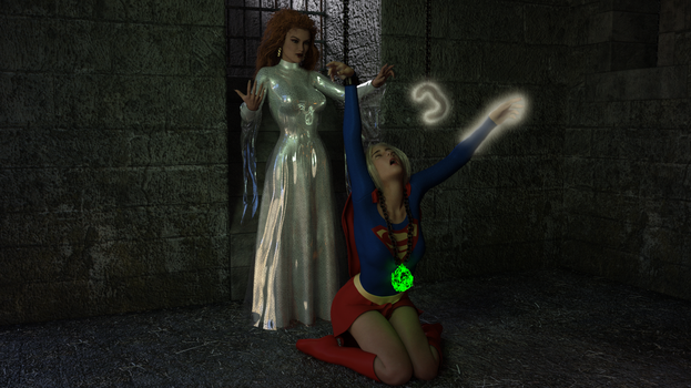 Supergirl trapped by Selina - 08 (Final) by rustedpeaces