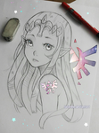 Zelda - Mark on Me by larienne