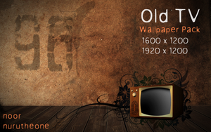 Old TV - WallPack by nurutheone