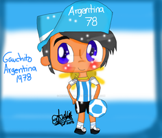 World cup mascots-Gauchito by migetrina4ver2018