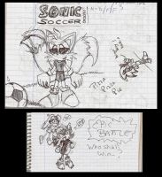 Random Sonic sketches 2 by ine-rocks