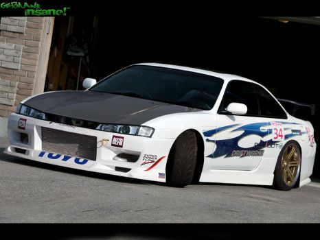 Silvia S14 by Germanow17