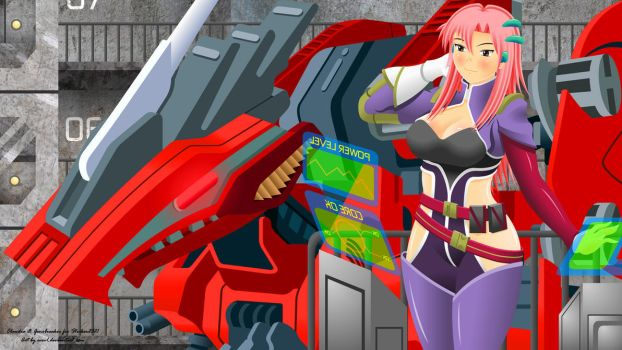 Lady And Zoid by EVOV1