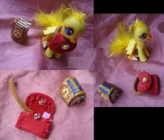 Final Fantasy Fables Book and Satchel accessories by LightningSilver-Mana