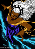 Storm by Fred Benes by marvelboy1974