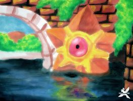 Staryu - Painting
