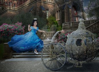 Photomanipulation Fantasy 4 Cinderella by marjan k by khoshro