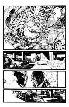 CAGE01, page 01 by EricCanete