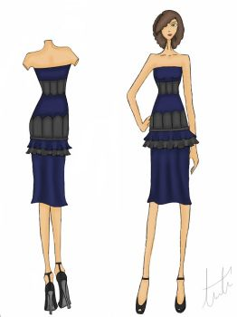 Dress Design 2 by AmourReveurBelle