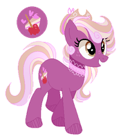 Mlp Next Gen Pink Apple (Smoothverse) by 6SixtyToons6