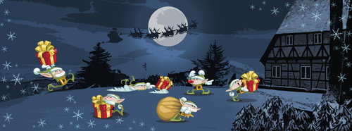 Christmas is coming : Facebook Cover Image by instantsoul