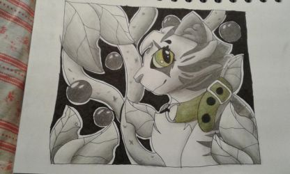 Random piece of traditional art. by LillazKoiFish