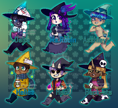 Witch adopts (ALL SOLD TY) by Mikkynga